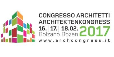 Der 1. regionale Architektenkongress in Bozen